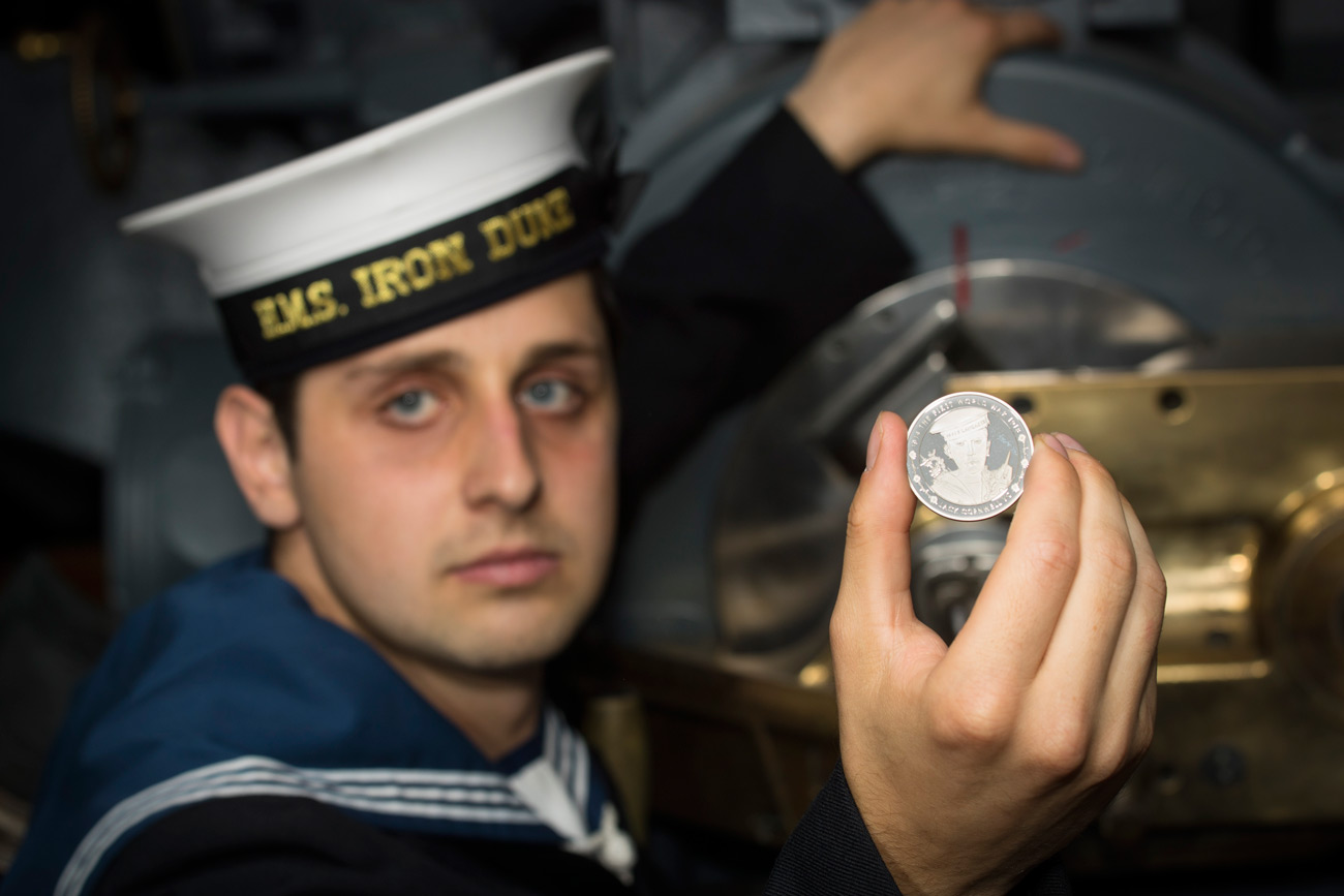 Commemorative coin tribute to sailor who won VC