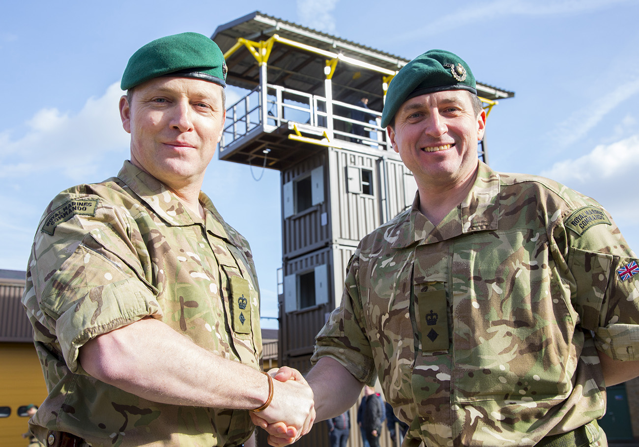 New man at the top for the Capital's Royal Marines Reserve