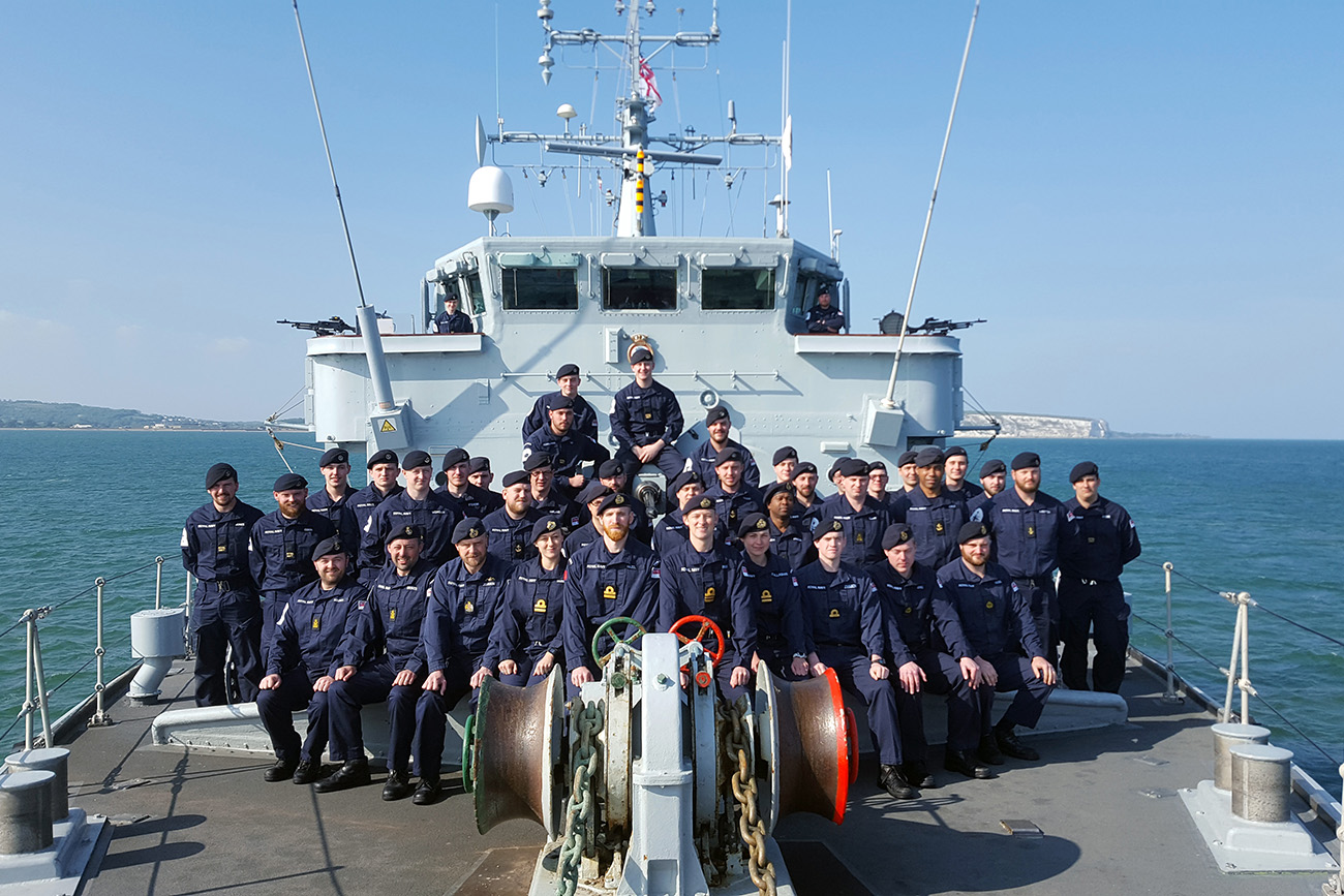 Cattistock crew ready for Gulf mission
