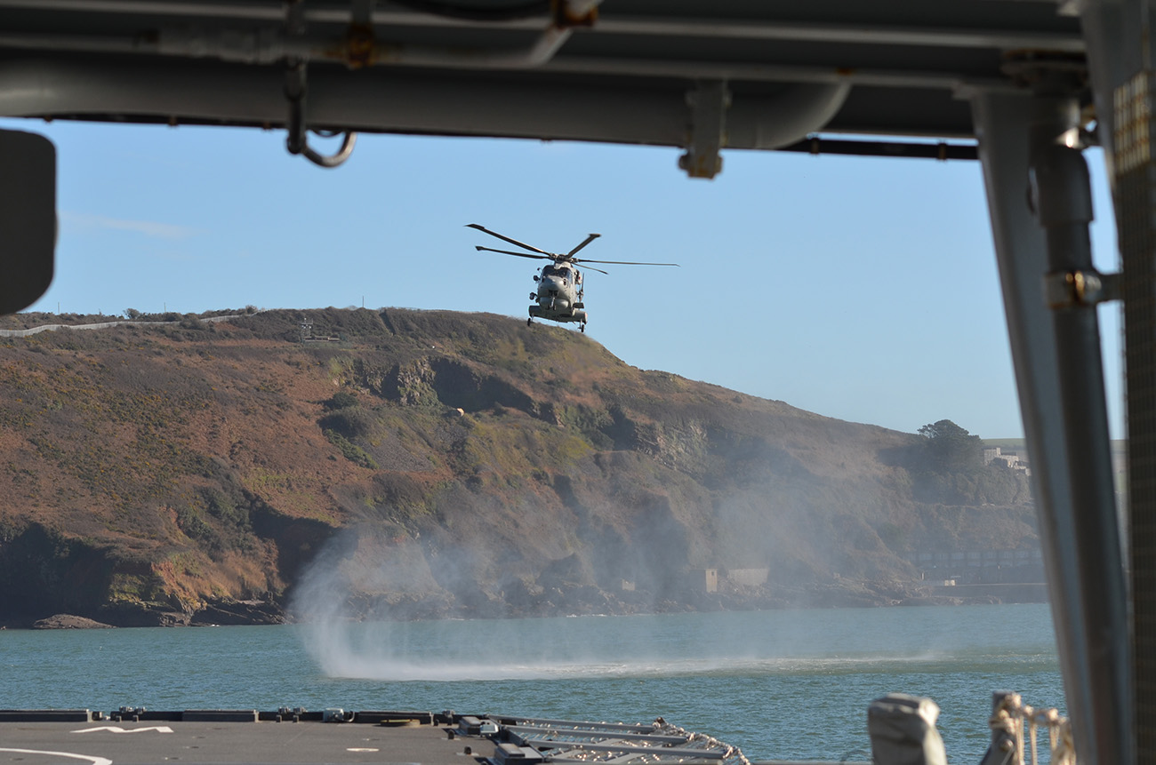 HMS Westminster returns