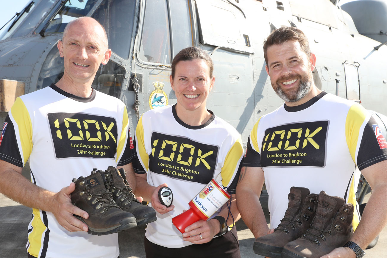 Team from Sultan take on BVUK 100k challenge