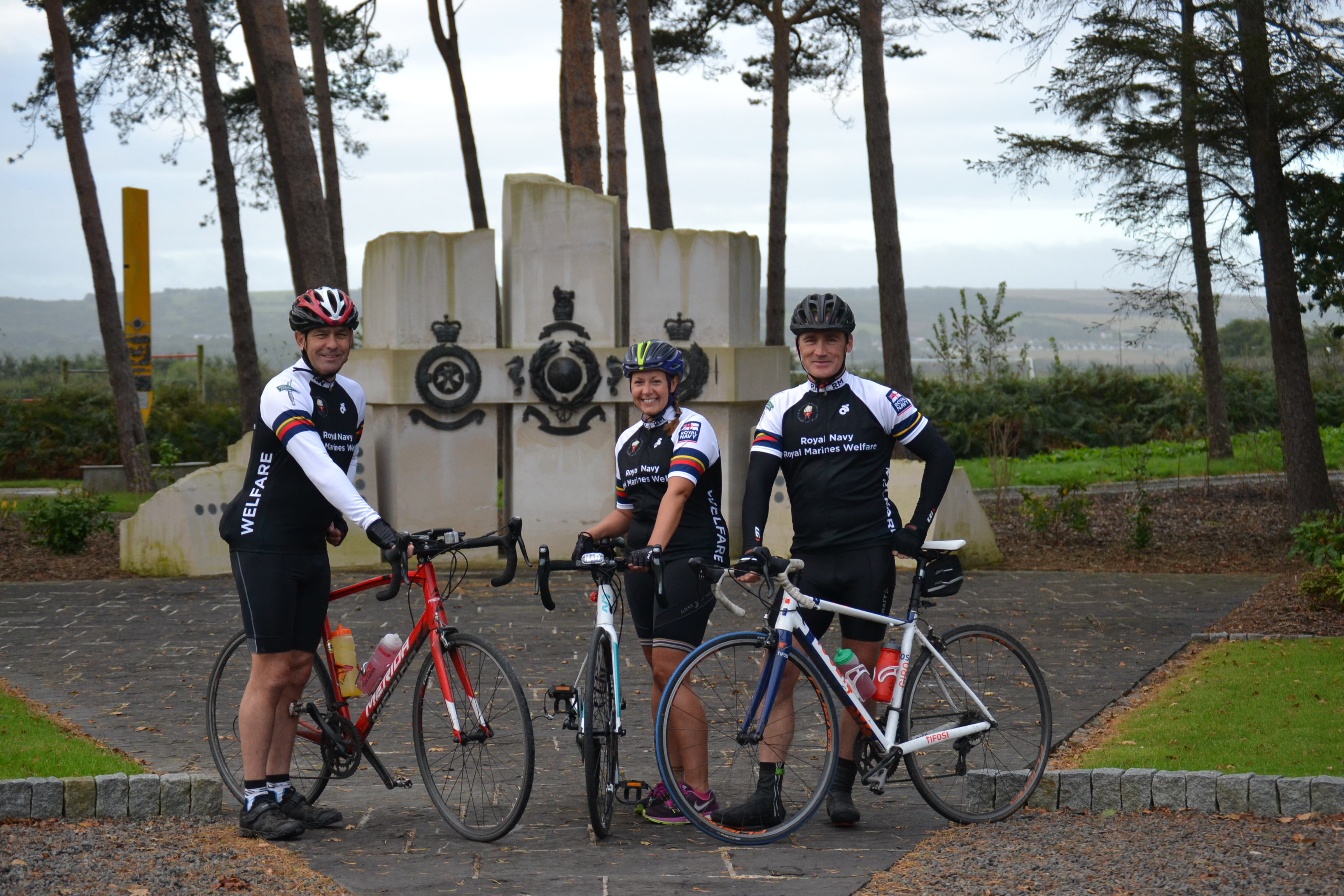 RNRMW Royal Navy Royal Marines Welfare Cycle Ride Office to Office 100 miles