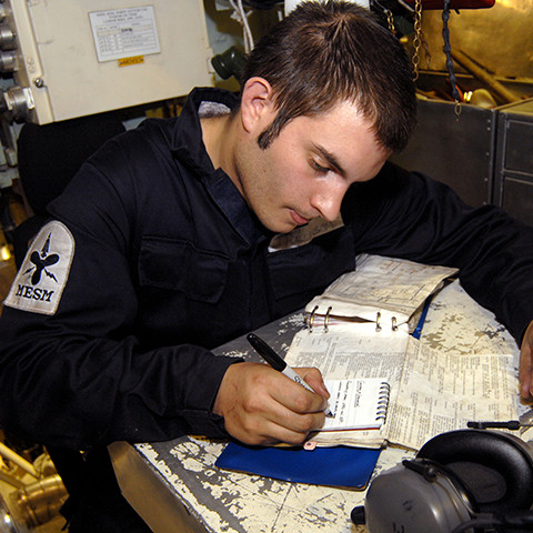 Engineering Technician Marine Engineering Submariner in the Royal Navy