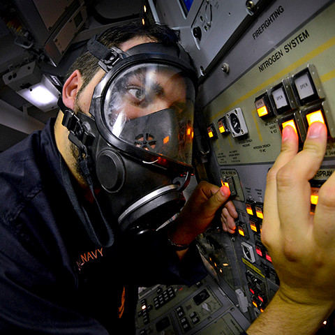 Weapons Engineering Officer submariner in the Royal Navy