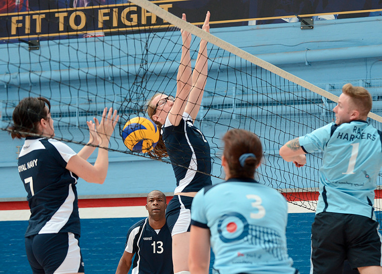 Royal Navy Volleyball