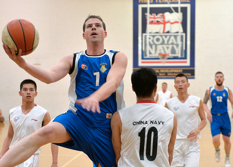 Royal Navy Basketball