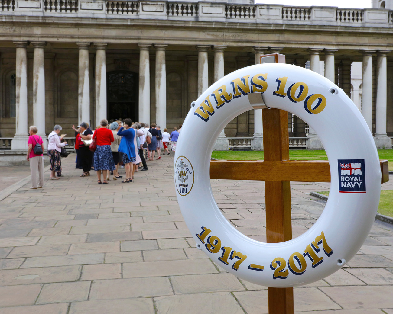 Naval Servicewomen gather at Greenwich for WRNS100 celebration