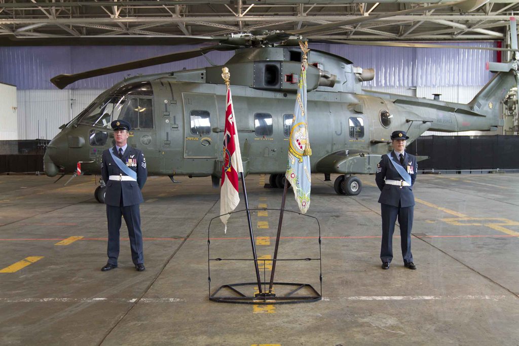 845 NAS take charge of Merlins