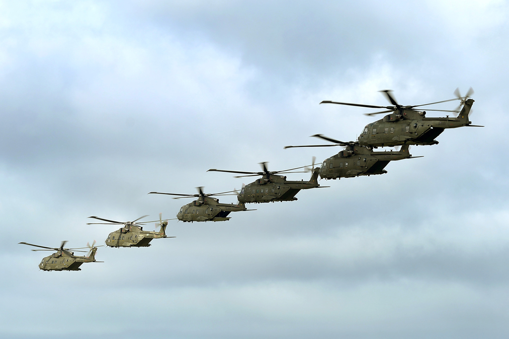 846 NAS comes home to Somerset