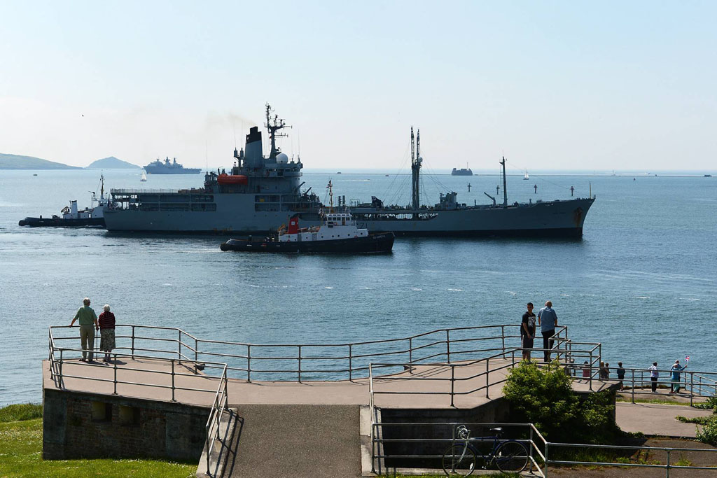 RFA Gold Rover returns Home