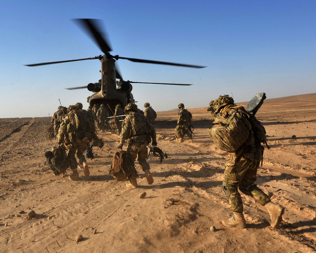 40 Commando Alpha Company in action in Afghanistan