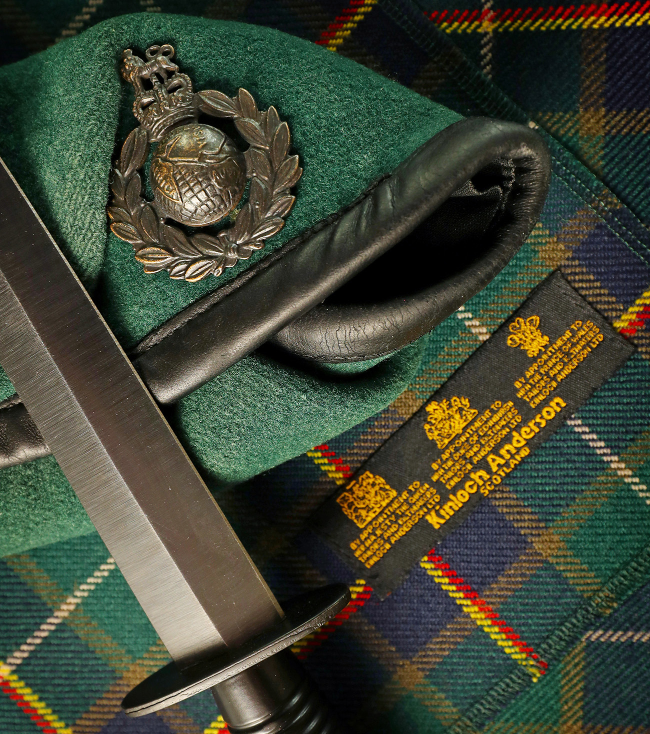 Clyde-based Royal Marines Commandos launch official tartan