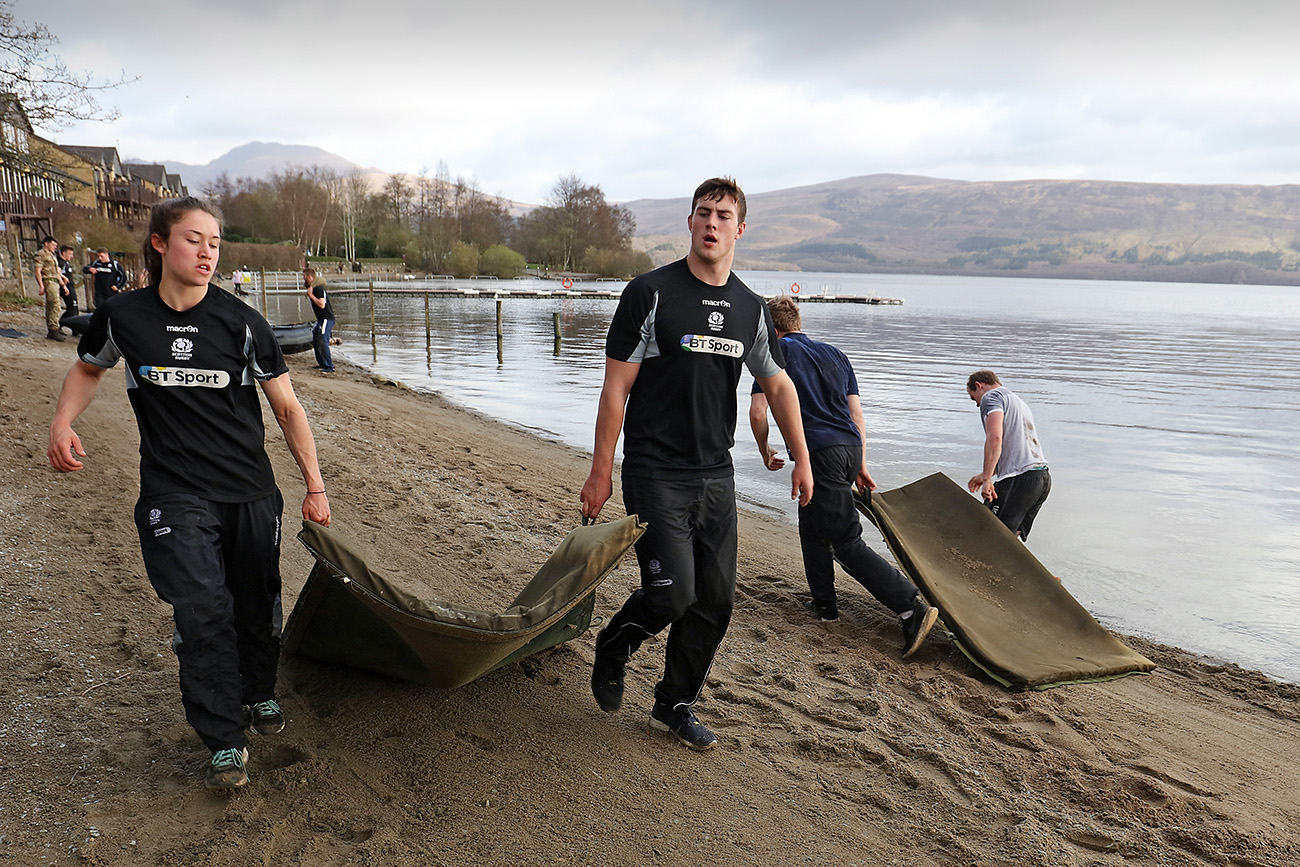 Academy tests Commando ethos in amphibious exercise