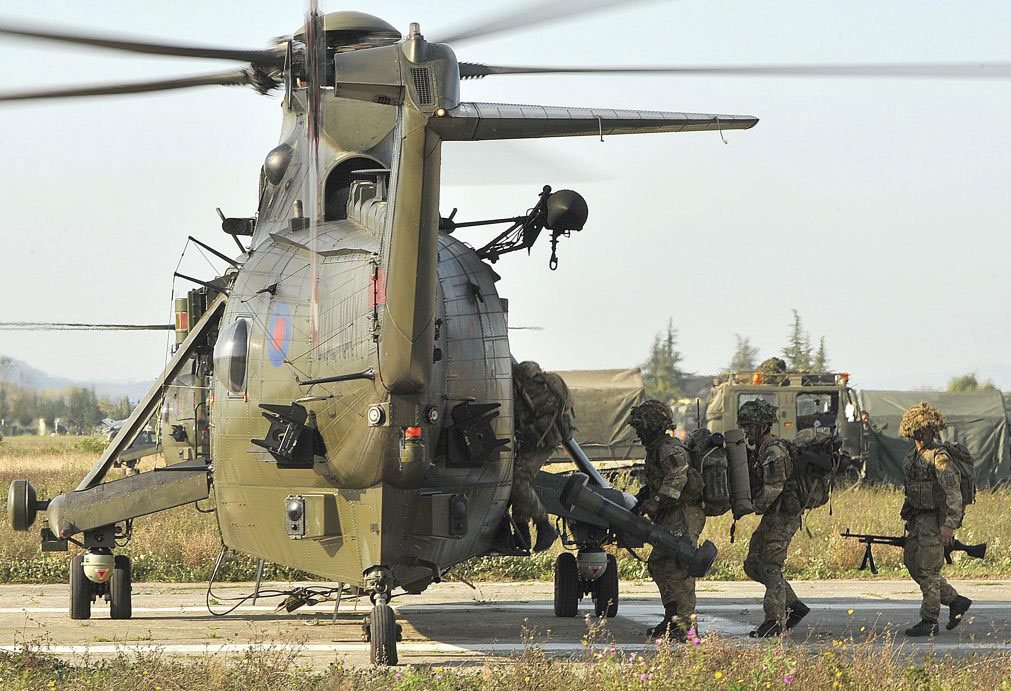 The Response Force Task Group (RFTG) being exercised in Non-combatant Evacuation Operations (NEO)