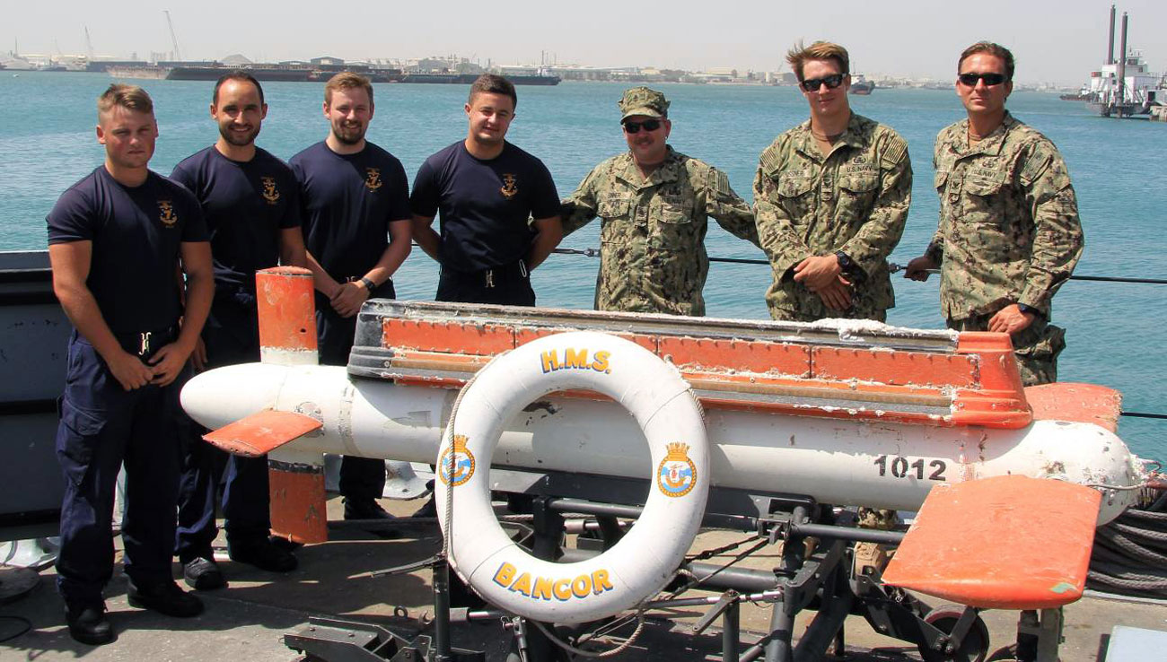 Eagle-eyed Bangor crew help save US Navy more than $1m