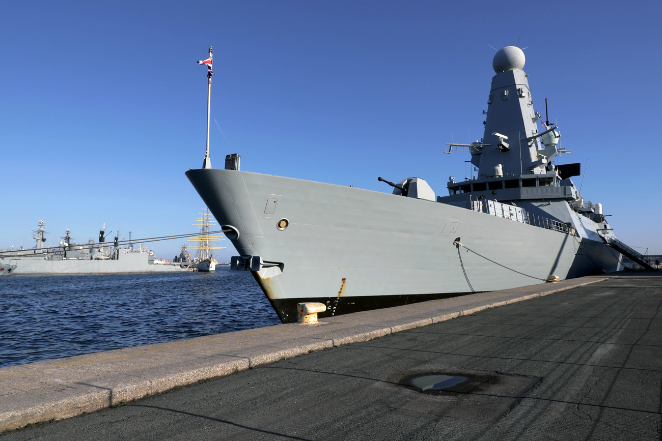 HMS Daring trains with Romanian allies as Black Sea visit continues