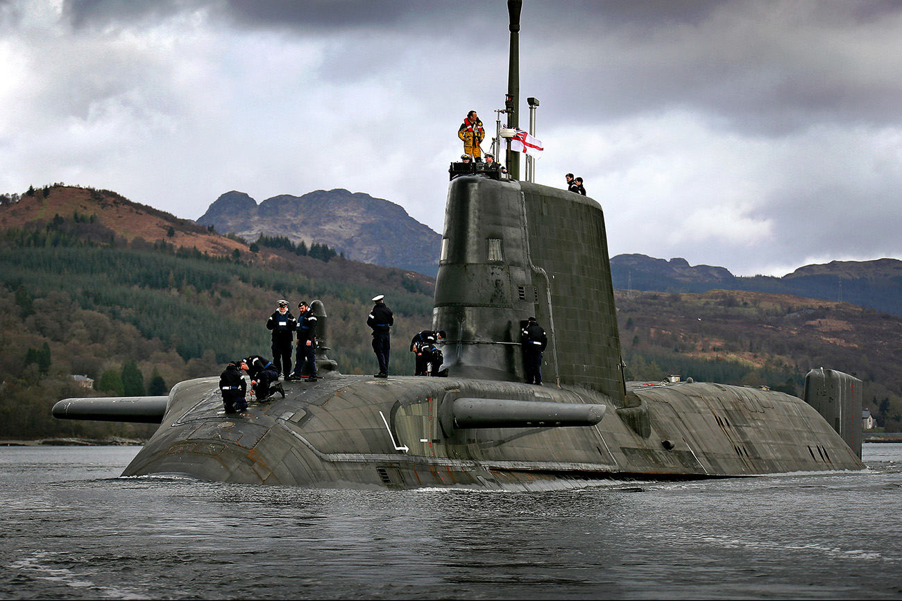 HMS Astute ready for operations