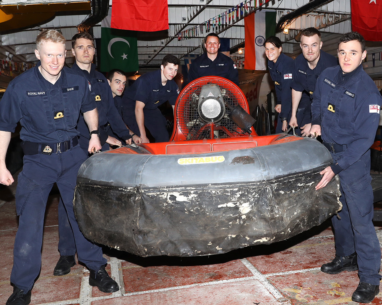 Air Engineers help give Hovercraft Museum a lift