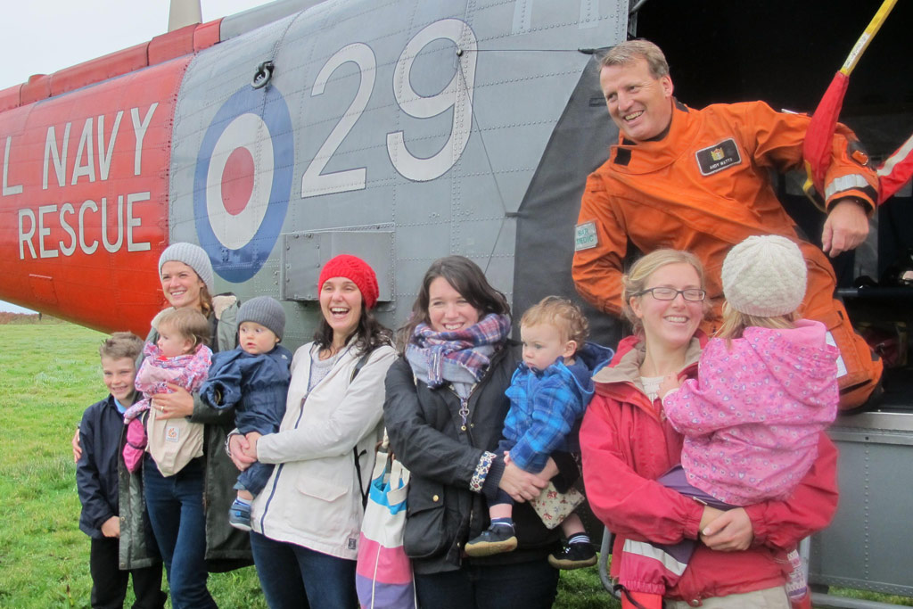 771 NAS visit Scilly Isles