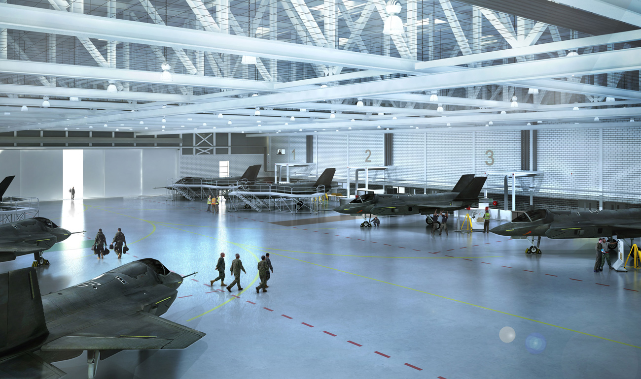 New home for UK's F-35B Lightning II strike fighters