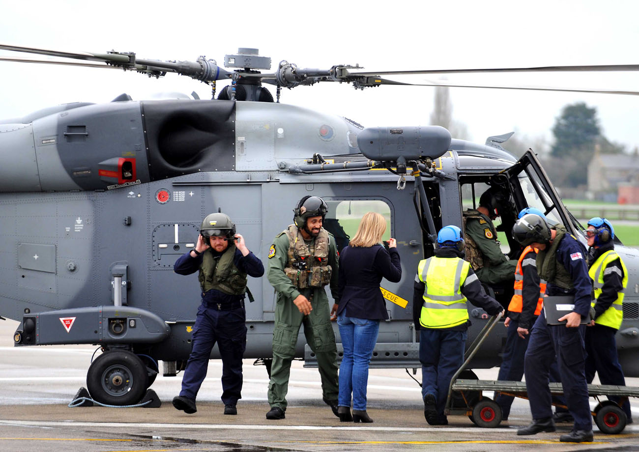 Wildcat returns to the pride of the Fleet Air Arm