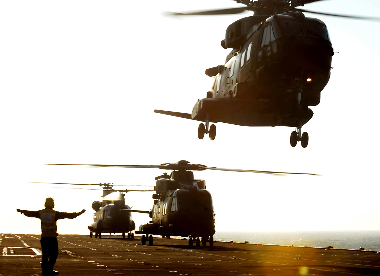 846 NAS 'crawl, walk, run' and fly on deck landing training