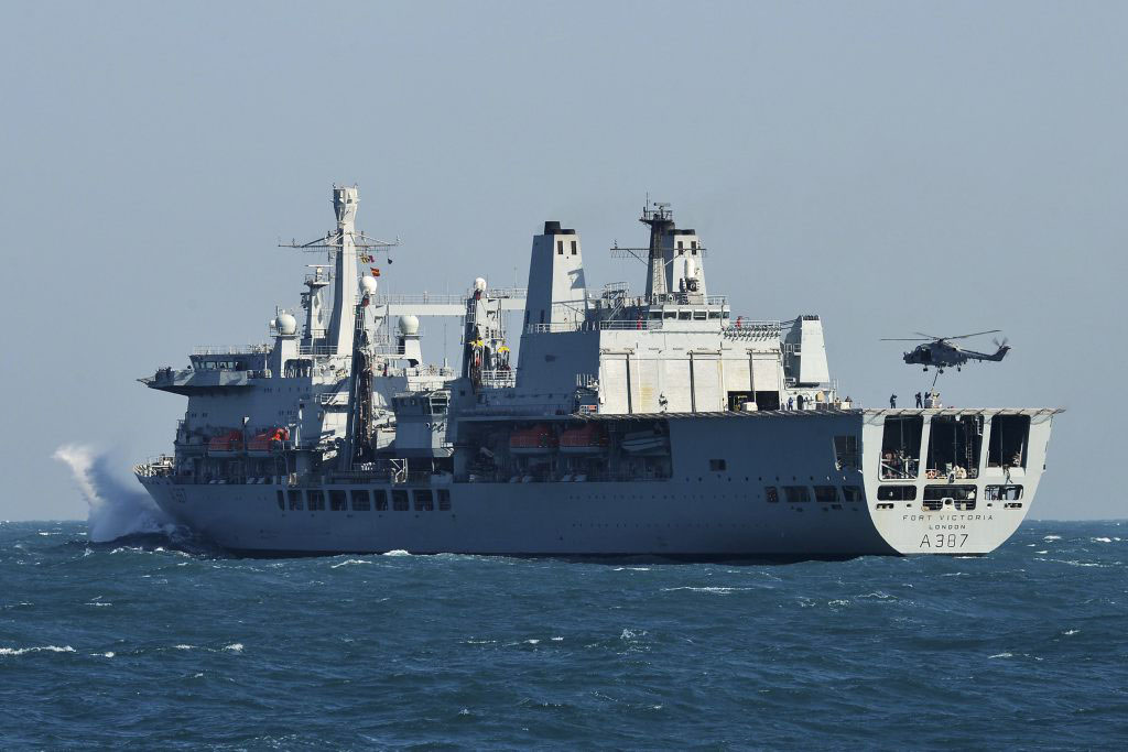 Royal Navy-led task force sweeps the Indian Ocean clear of pirates