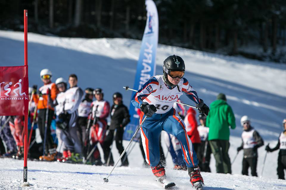 RM Reservist at Telemark Champs