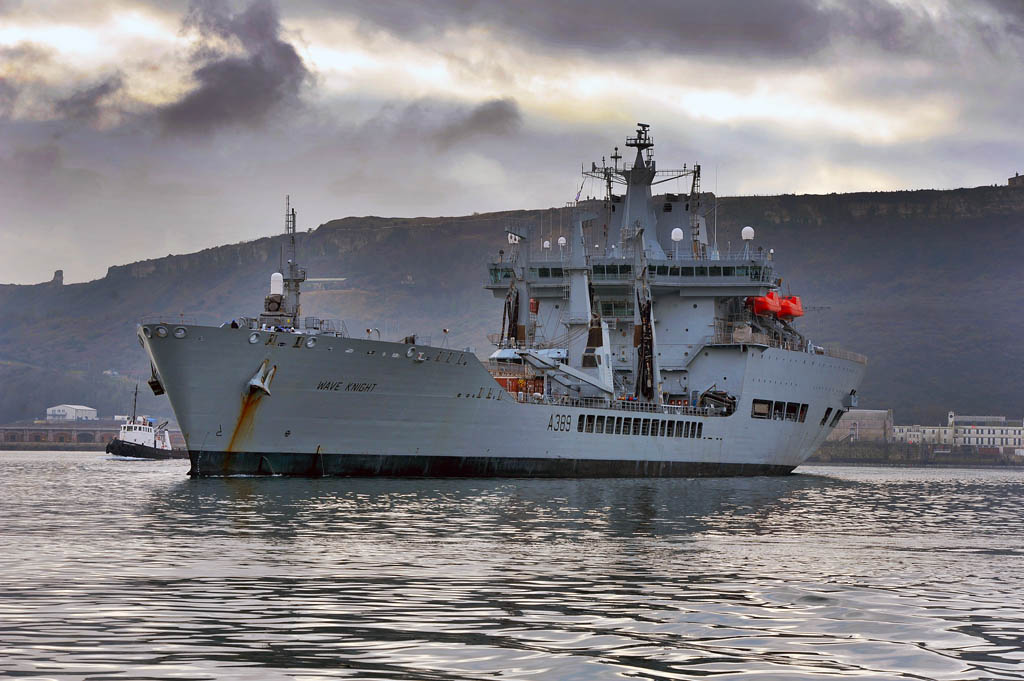 Royal Fleet Auxiliary Sail For Counter-Narcotic Deployment