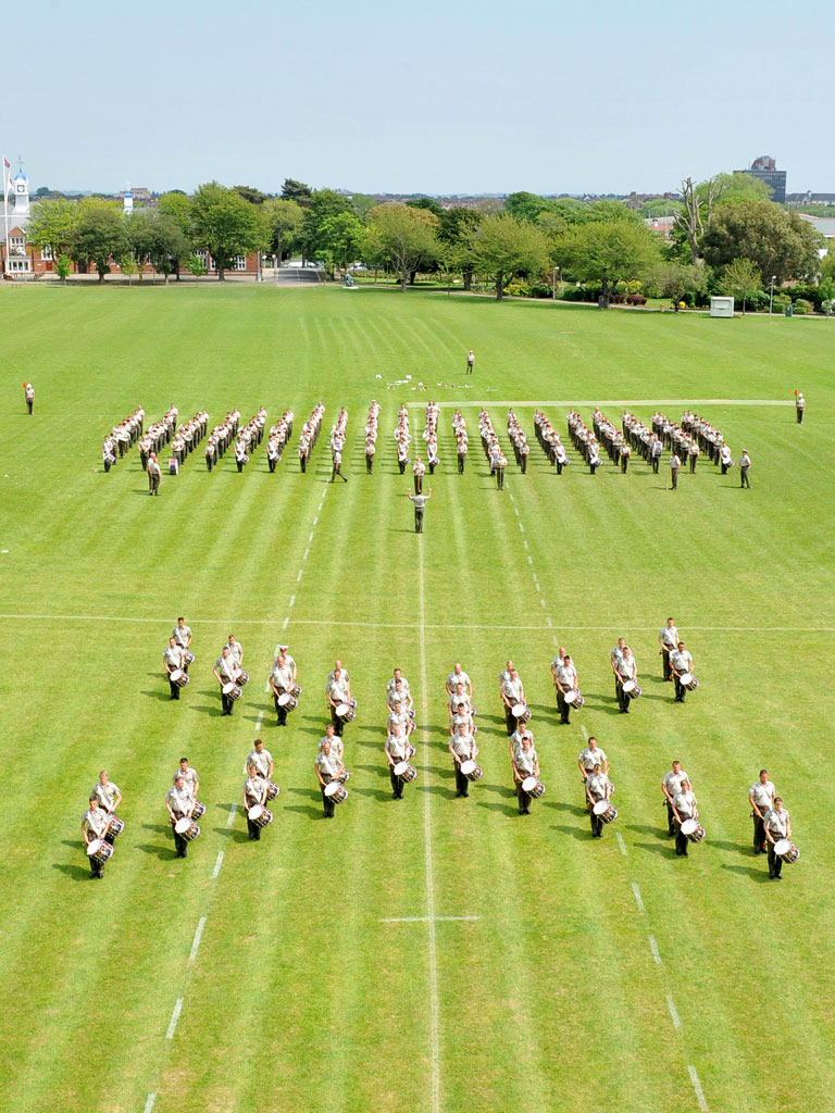 Bands of the Royal Marine Band Service