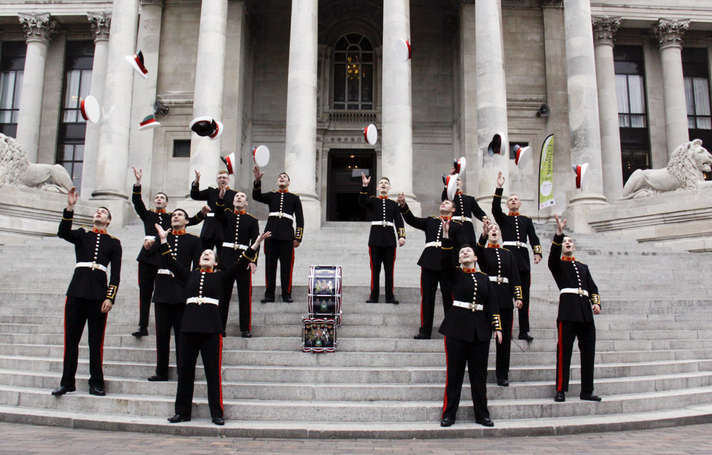 Military musicians graduate from world class school of music