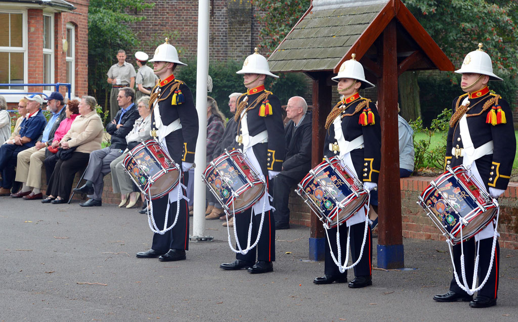 Military musicians prove a hit with over 60's