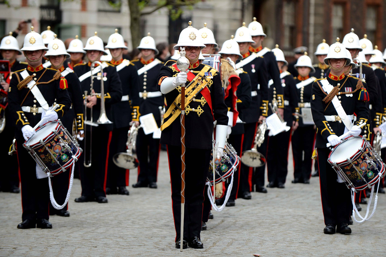 Military musicians gear up for Grand Prix