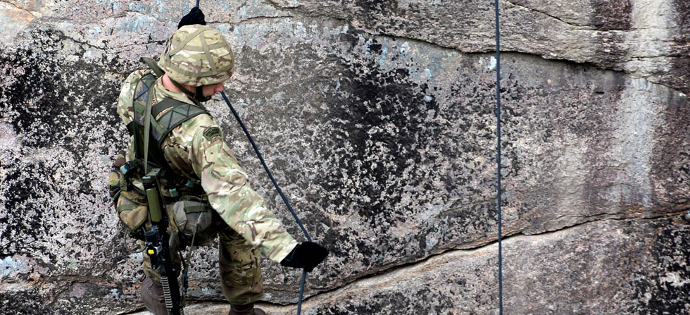 Royal Marines' challenge of the toughest