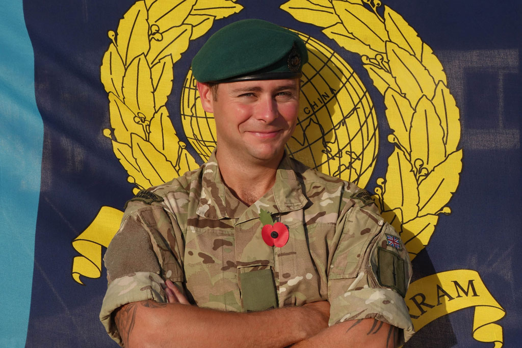 ROYAL MARINE HERO SAVES A LIFE IN BAHRAIN