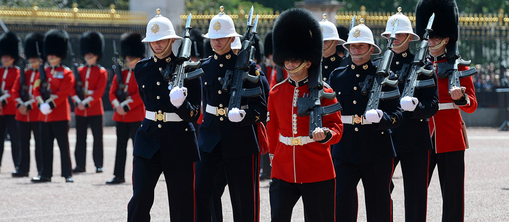 RM Changing of the Guard