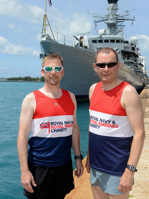 HMS Argyll supports Naval charity during deployment