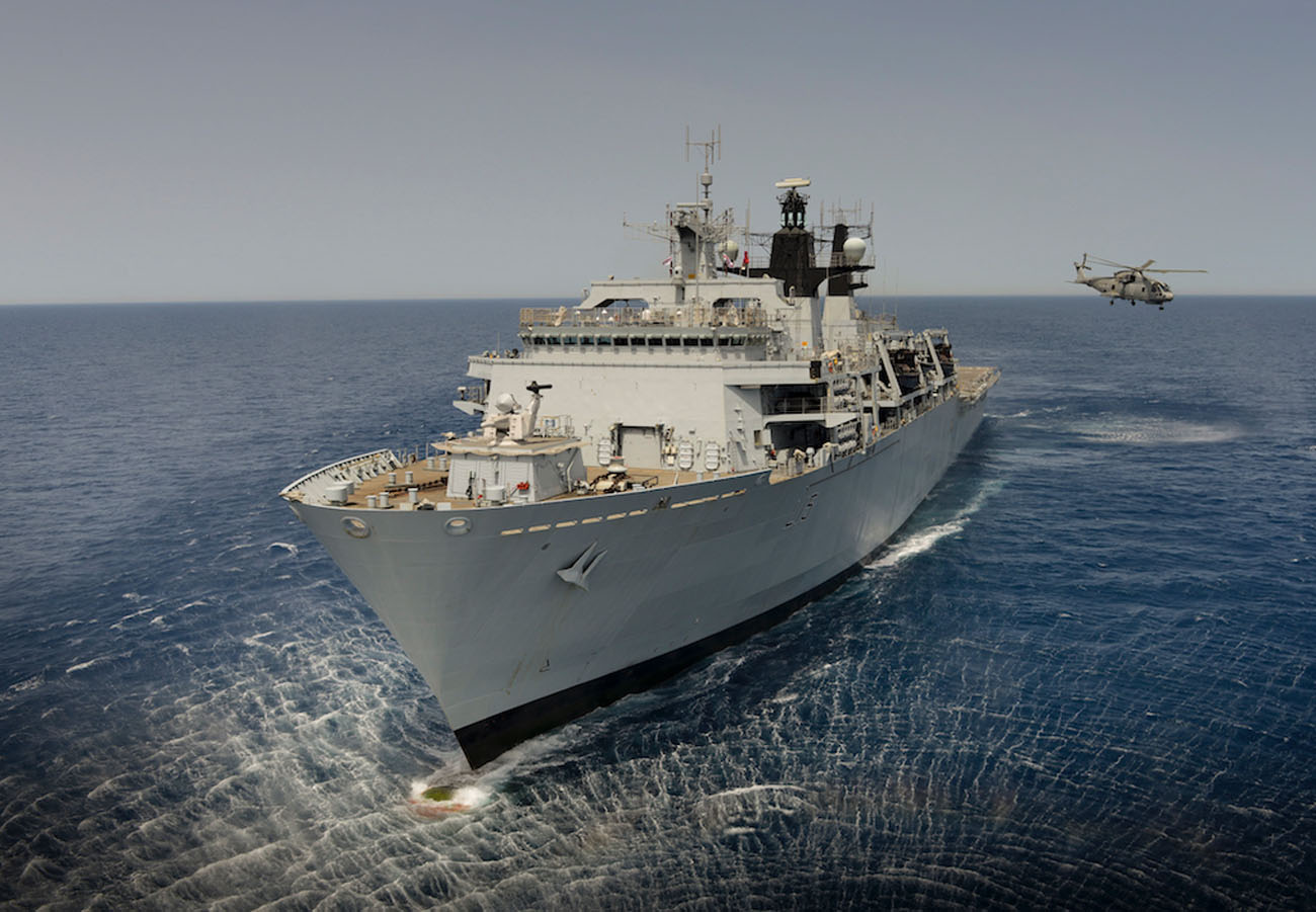 HMS Bulwark celebrates her 11TH Birthday