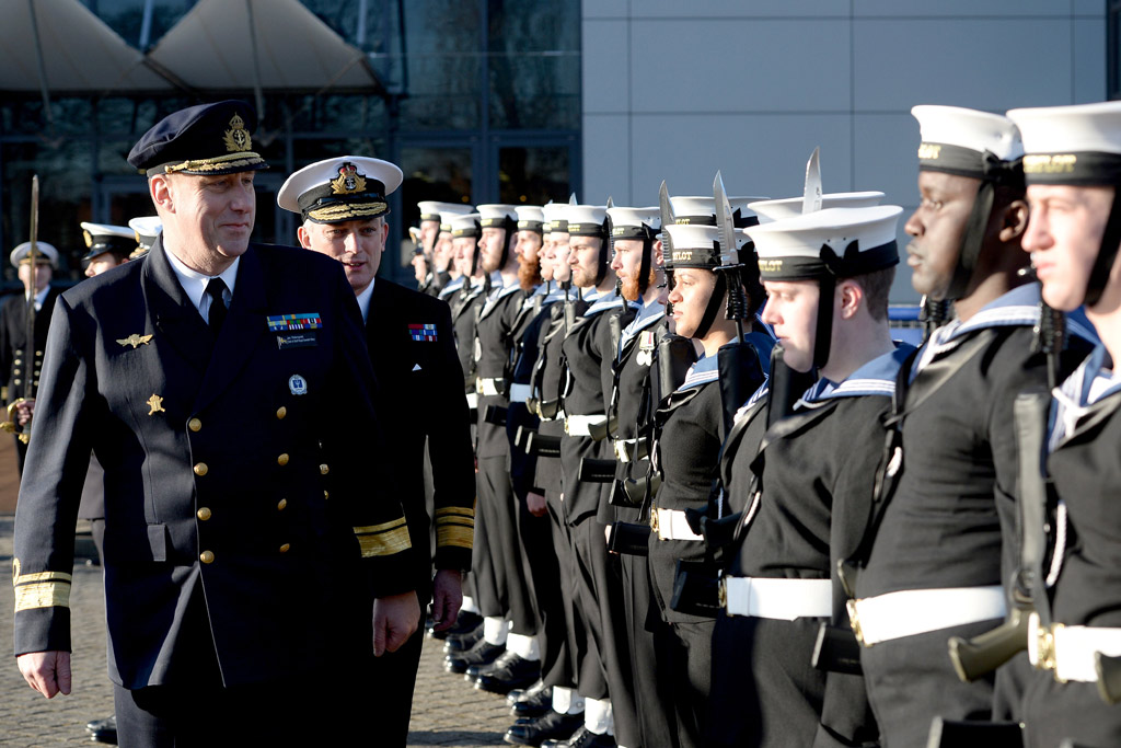 Head of Royal Swedish Navy visits UK