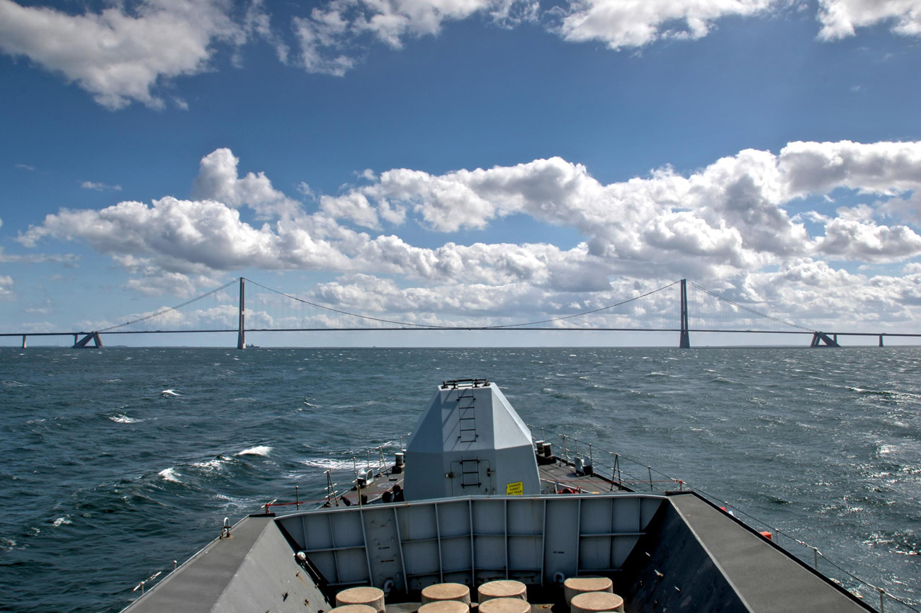 Royal Navy sails into Poland for BALTOPS