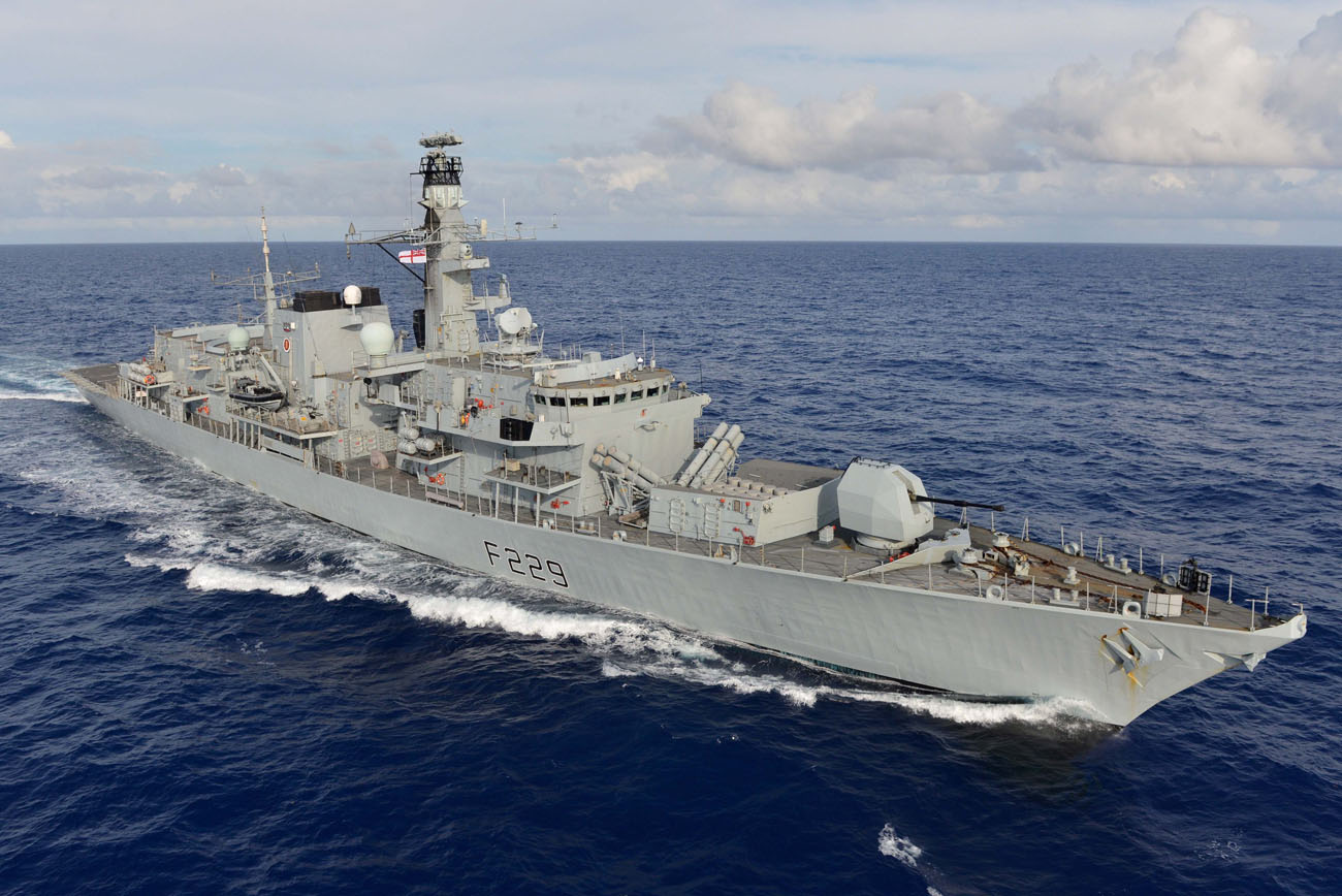 HMS Lancaster sails into Liverpool for visit and re-dedication of freedom scroll