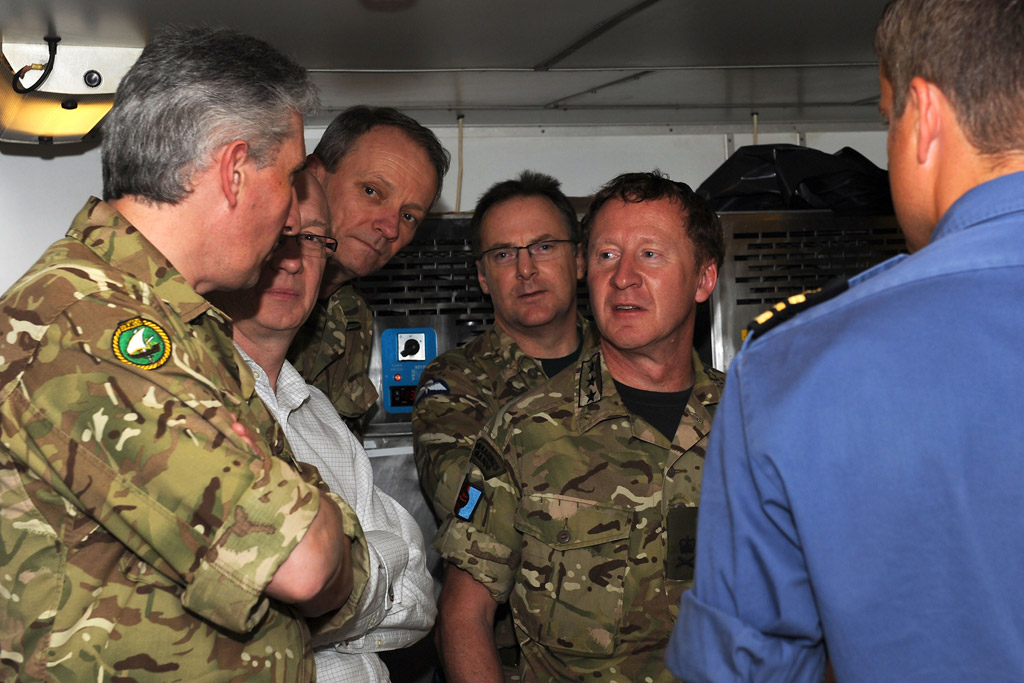 HMS Monmouth Hosts Chief of Joint Operations