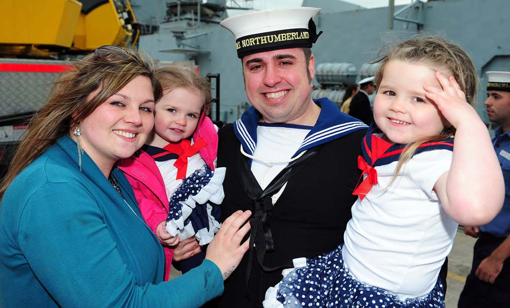 Homecoming of HMS Northumberland