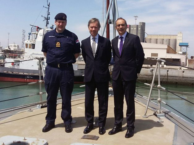 Lord Mayor of London visits HMS Penzance