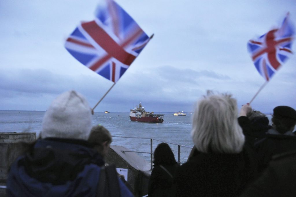 HMS Protector deploys to Antarctica