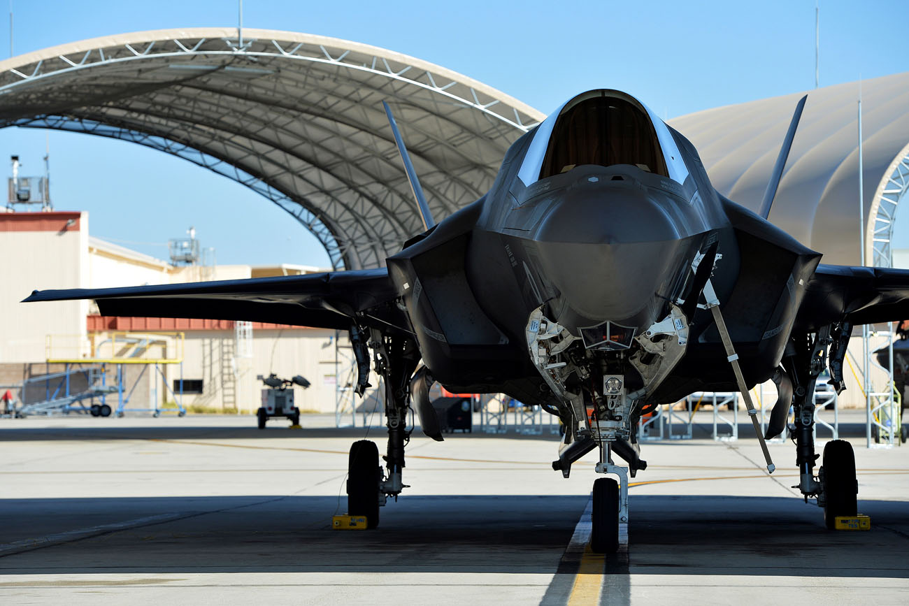 Navy's new strike fighter drops two weapons for first time