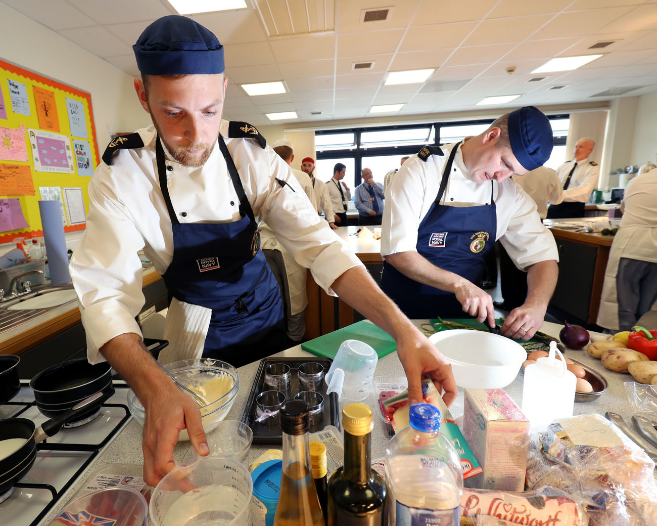 Carrier caterers are crowned maritime master-chefs