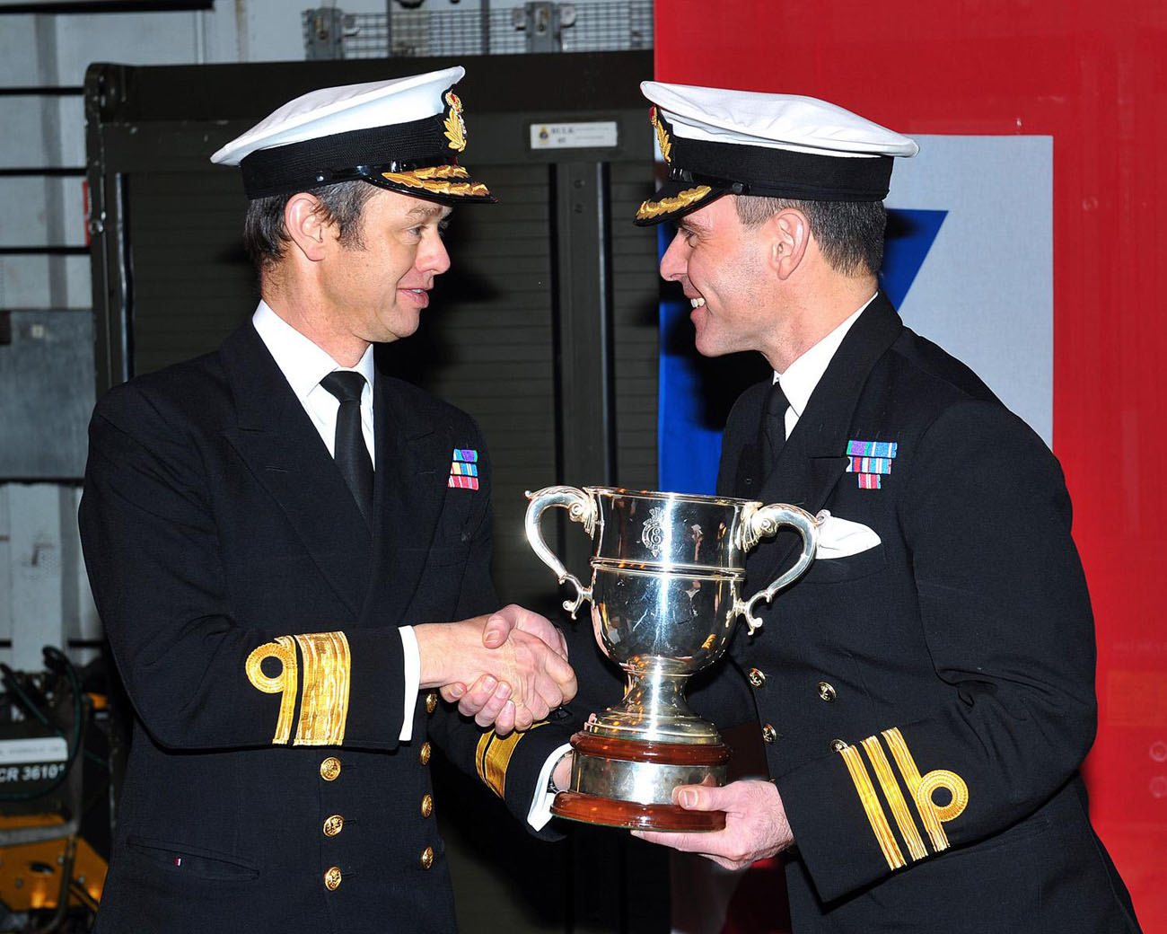 HMS Somerset awarded top frigate trophy