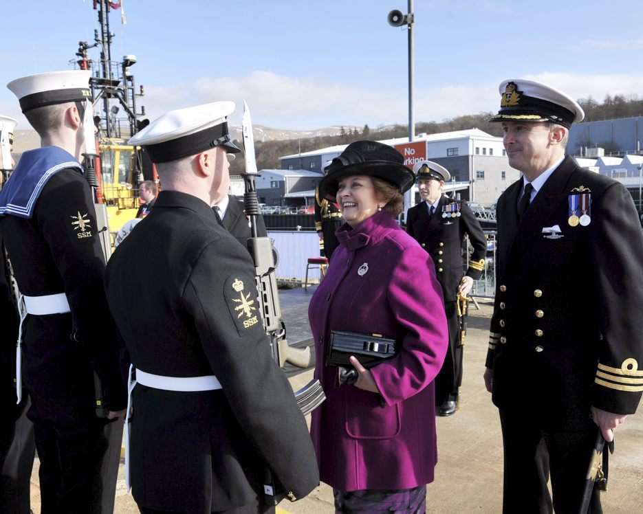 HMS Ambush Officially Welcomed Into The Royal Navy