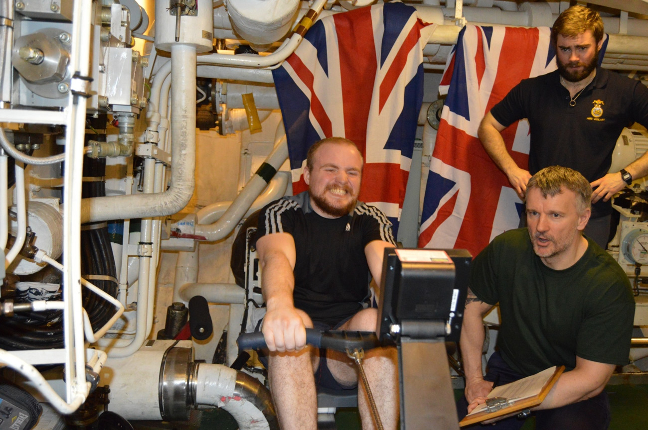 Submariners get in ship-shape during patrol